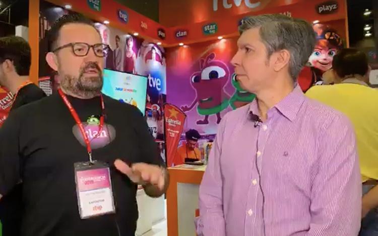 Con Victor Reyero de RTVE