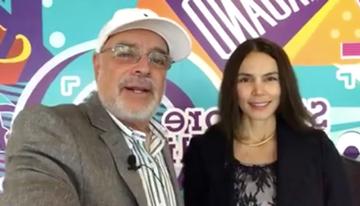 Con Luciana Olivares, gerenta de Estrategia y...