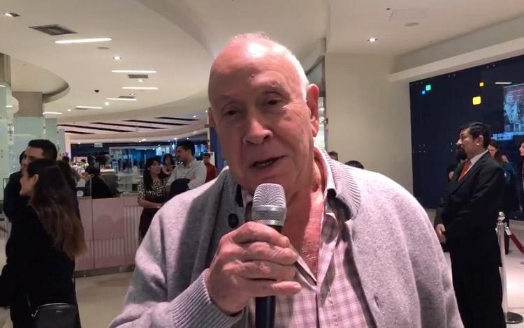 Con Baruch Ivcher, broadcaster peruano a quie...