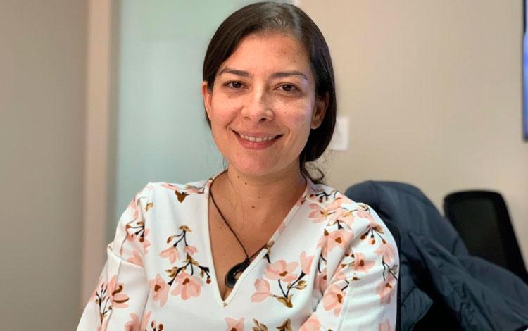 Cristina Echeverri, directora ejecutiva de AG...