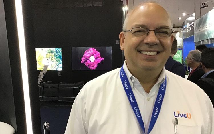 Con José Luis Reyes de LiveU