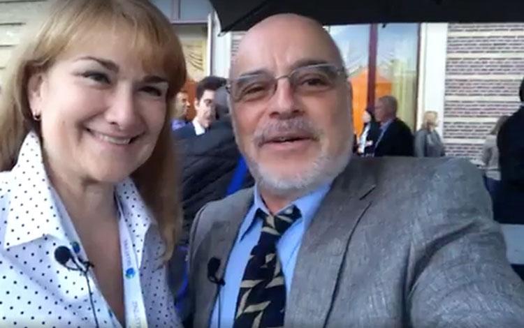 Con Carmen González Sanfeliú, directora ejecu...