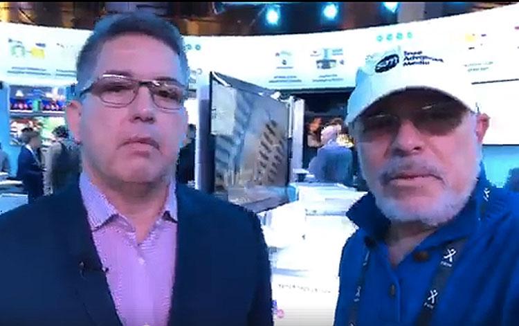 Con Rafael Castillo, VP de SAM para Latinoamé...