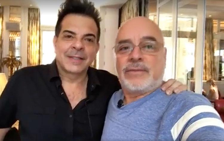 Con César Sabroso de A+E Networks Latin Ameri...