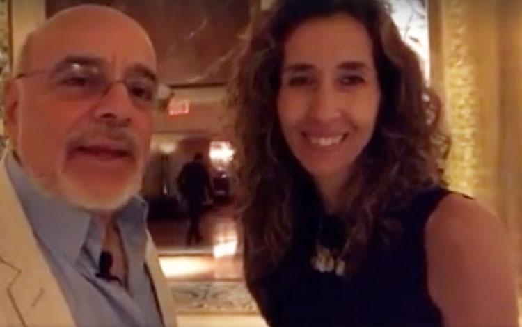 Con Jimena Urquijo de Kantar Media panelista ...