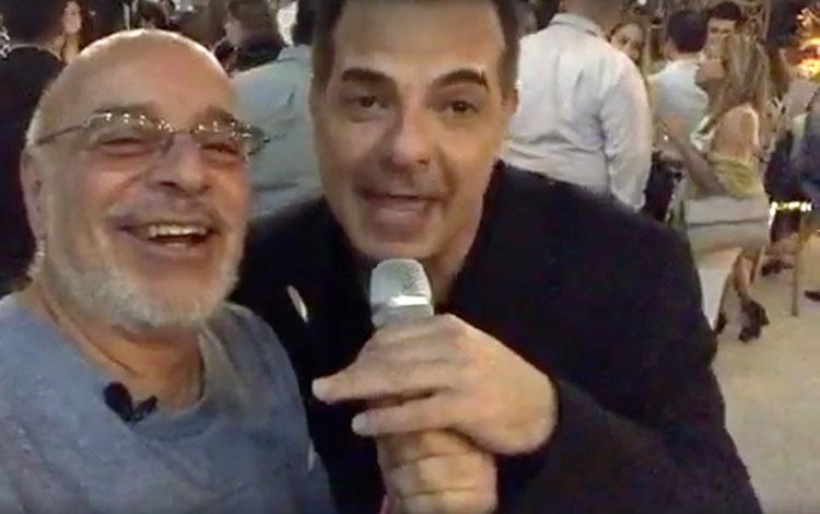 Con César Sabroso en el cierre del Summit de ...