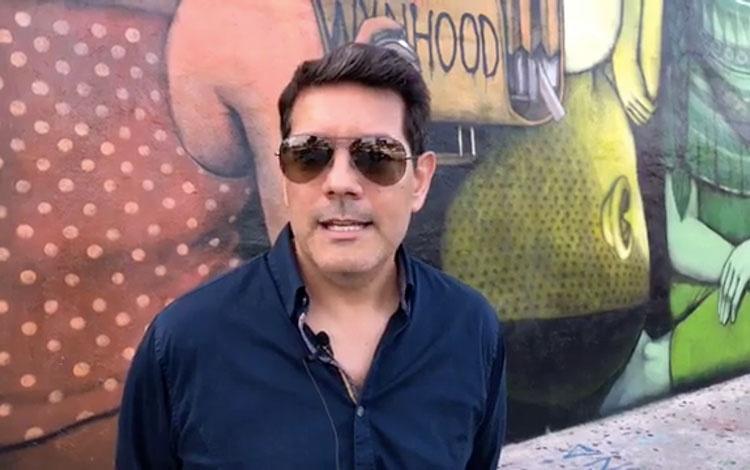 Con Adrián Santucho desde Wynwood, en Miami, ...