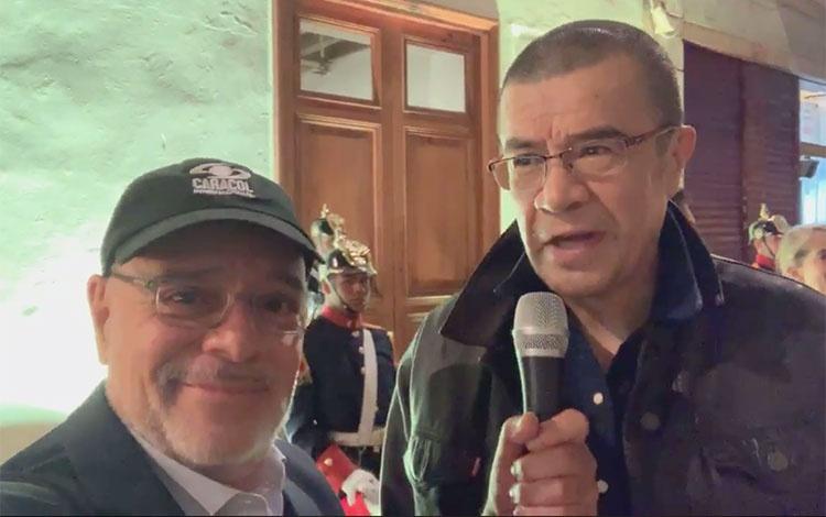 Asier Aguilar y Dago García de Caracol en la ...