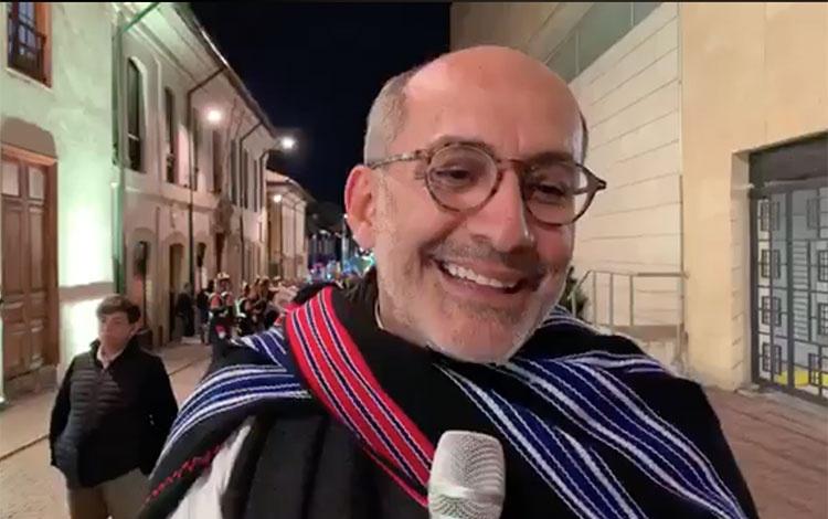 Diego Guarnizo vestuarista de la serie Bolíva...