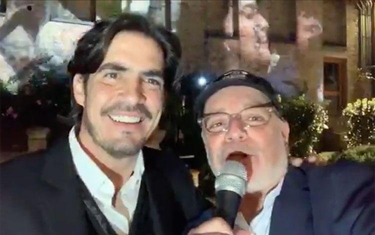 ActorLuis Gerónimo Abreu en el lanzamie...