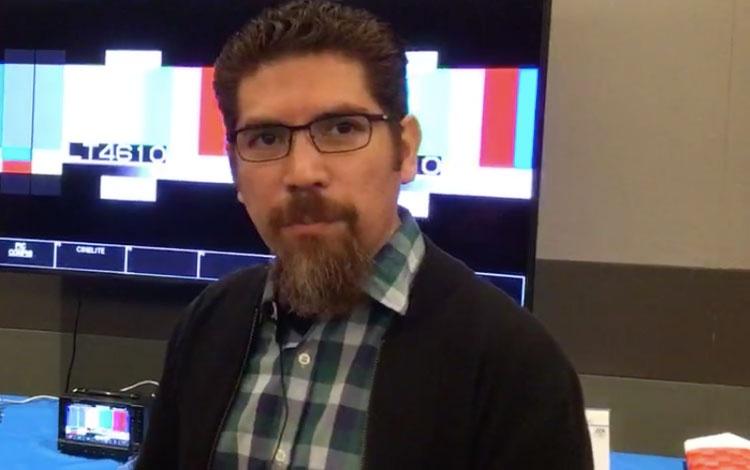 Con Jorge Pérez de Sistemas Digitales AV, des...