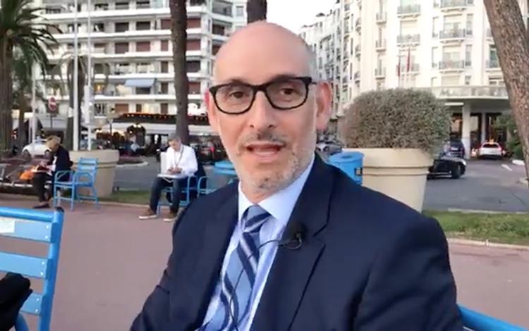 Desde Mipcom en Cannes con Luis Silberwasser ...