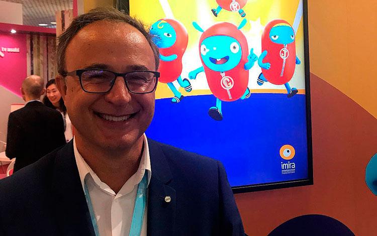 Con Sergi Reitg CEO de Imira