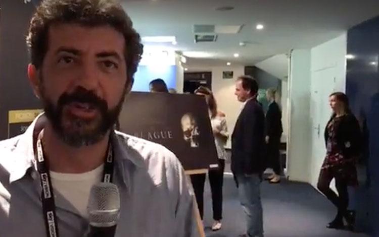 Con Alberto Rodríguez director de 'La Peste (...