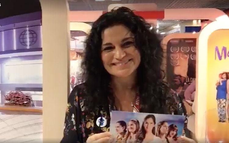 Con Cecilia Gómez de la Torre gerenta general...