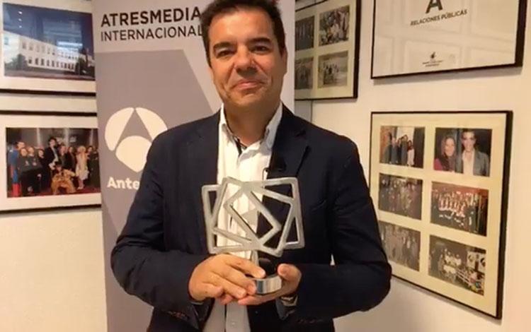Con José Antonio Salso gerente de Compras y V...