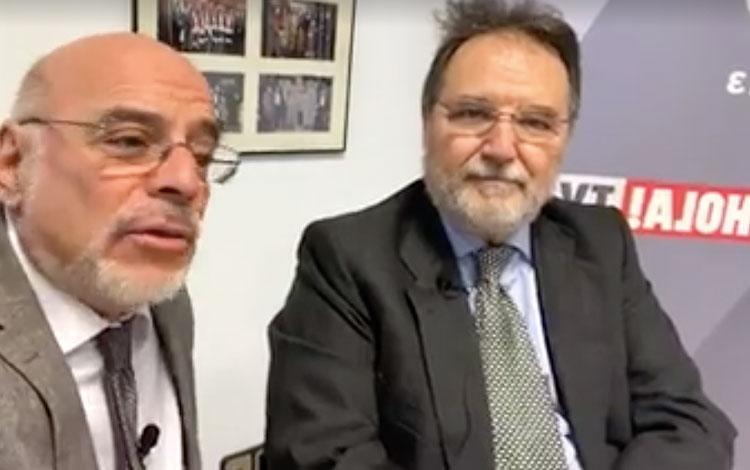 Con Maurizio Carlotti VP de Atresmedia, recib...