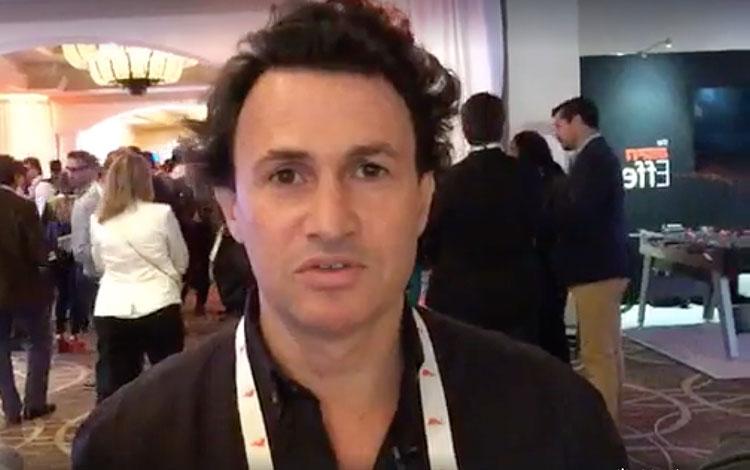 Con Juan Carlos Goldy, CEO y fundador de Loga...