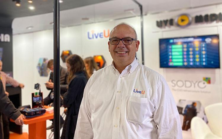 Con José Luis Reyes de LiveUdesde  #CAP...