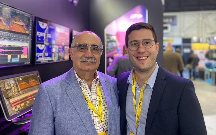 Con Mariano Simonetta de SVC