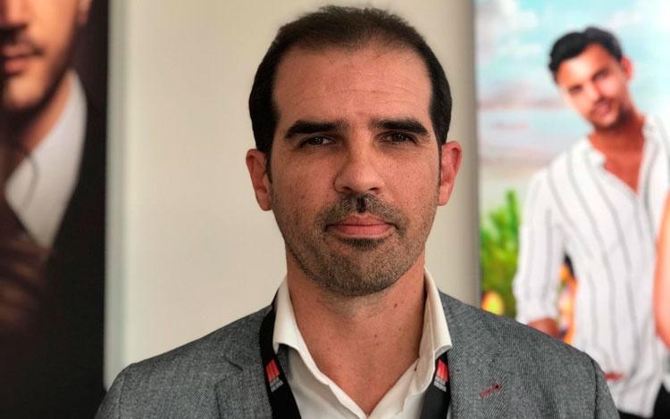 Con Emilio Amare Álvarez