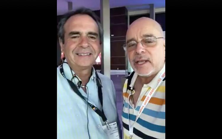 Con Pedro Lascurain director de Adquisiciones...