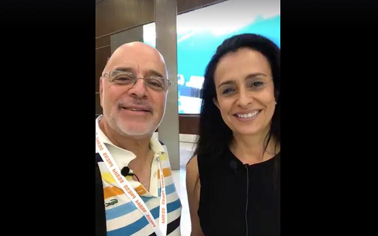 Con Raquel Dueñas Conference Chair de MipCanc...