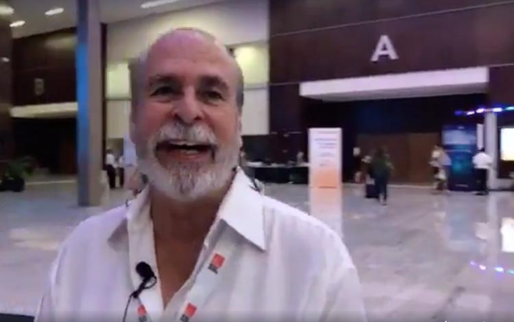 Con Julio Neri desde MipCancún