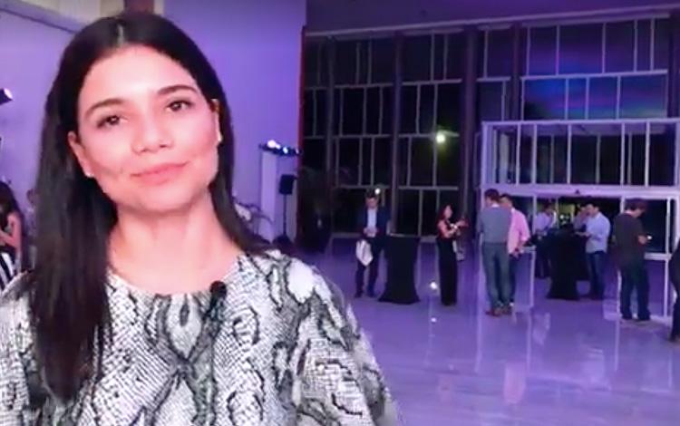 Con Marina Ruiz de Cachai en MipCancún