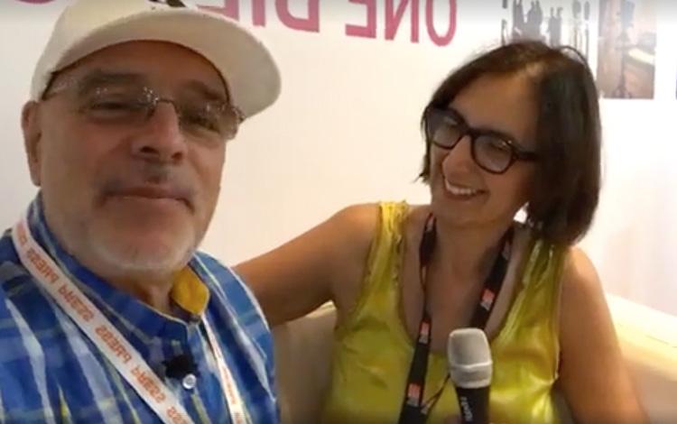 Con Carolina Balboa VP de Programación y Desa...