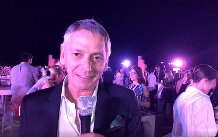 Con Beatriz Ocan desde la fiesta de Inter Med...