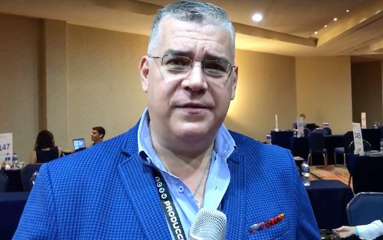 Con Carlos Lamas gerente general de RCTV Inte...