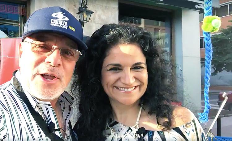 Con Cecilia Gomez De La Torre Miranda desde V...