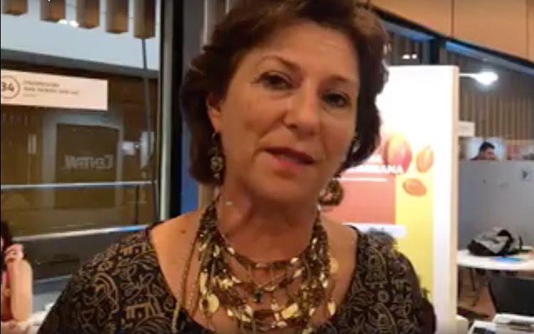 Con Claudia Triana de Proimágenes de Colombia...