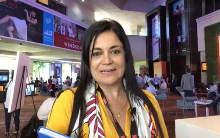 Con Cecilia Gómez de Tondero