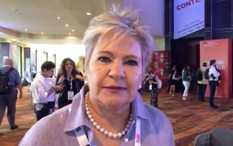 Con Clara María Ochoa fundadora de CMO de Col...