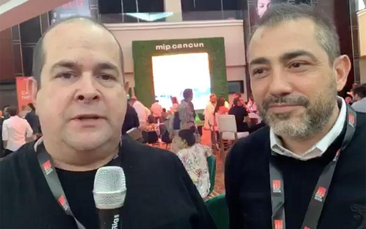 Con Sergio Pizzolante y Sebastián Mellino des...