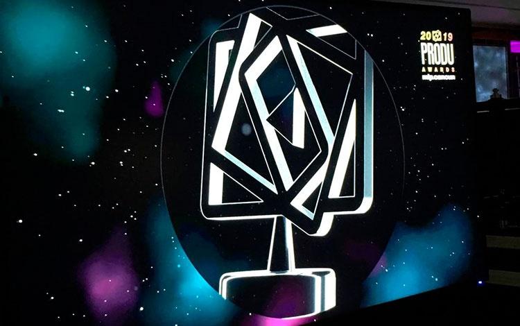 Gala de premiación de los PRODU Awards 2019