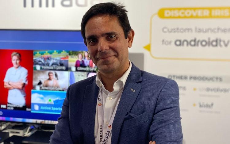 Con José Luis Vázquez de Mirada