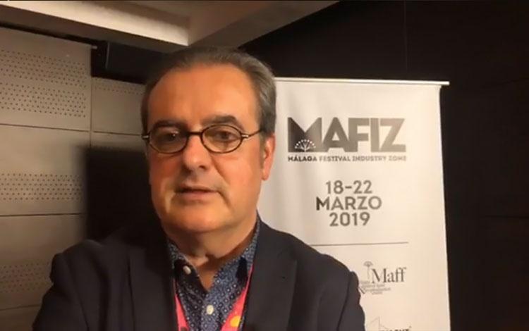 con Juan Antonio Vigar del Festival de ...