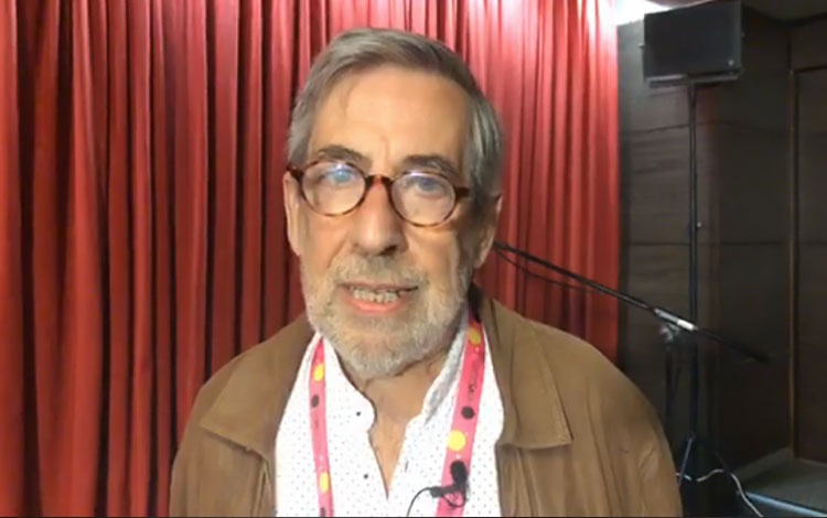 con Pablo Brito, guionista de cine y TV, soci...