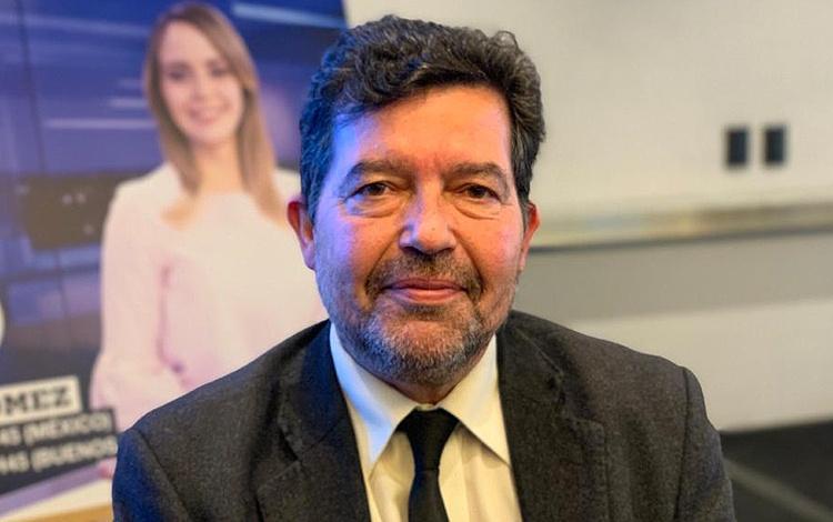 Con Álvaro Sierra director de France24 en esp...