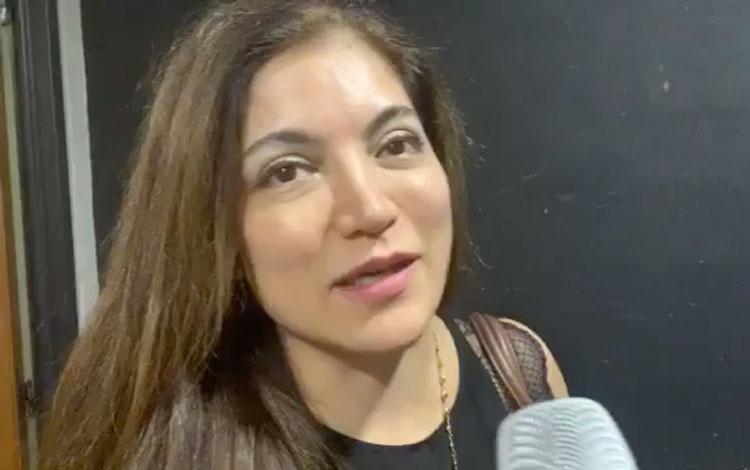 Con Frida Torresblanco, CEO de Braven Films d...