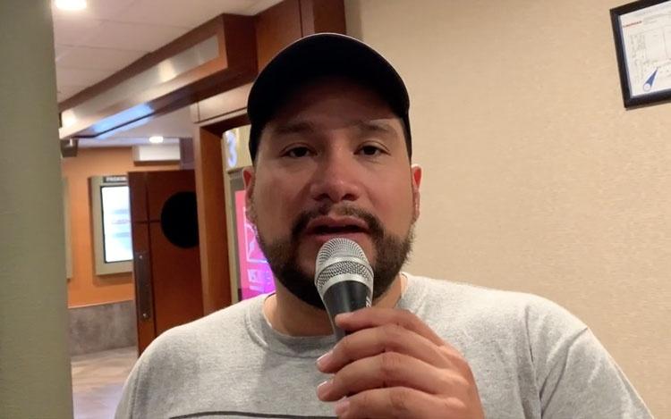 Con elcineasta Rodrigo Hernández
