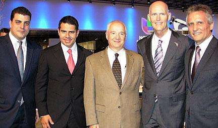 Produ Noticias Univisión And Fusion Unveil State Of The Art Newsport Studios In Doral
