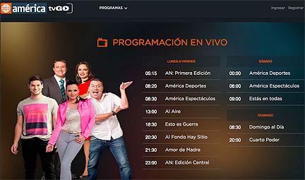 América TV de Perú lanza su plataforma OTT: America TVGO